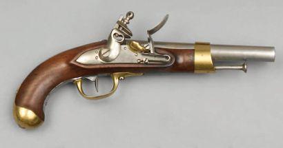 Pistolet de cavalerie modèle an XIII, canon...