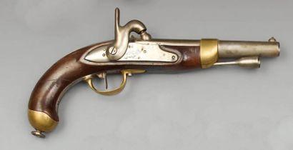 Pistolet à percussion de cavalerie modèle...