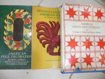 Lot de 3 livres, Americana - America's Quilts...