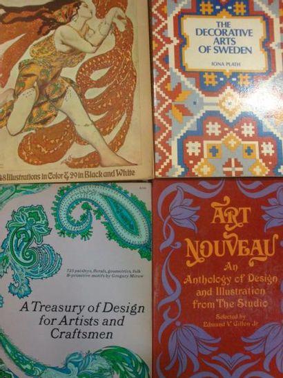 Dover Pictorial Archives: - Art Nouveau,...