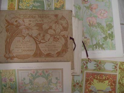 «Peinture d'art Nouveau», planches en couleur...