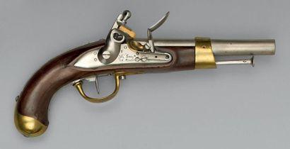 Pistolet de cavalerie à silex modèle an IX/an...