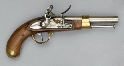 Pistolet de cavalerie à silex modèle an XIII,...