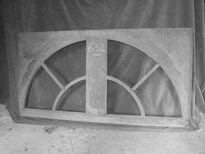 Imposte d'écurie, chêne H. 65 - L. 130 c...