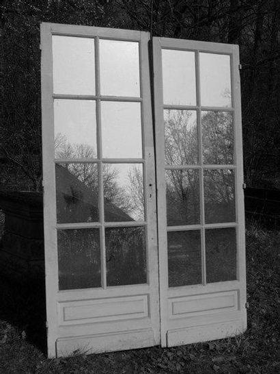 2 Portes de passage, 1 face à miroir et petits...