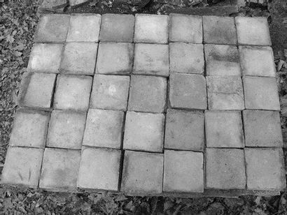 Carreaux de terre cuite claire 7m2 env.