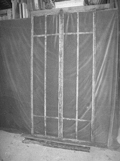 Fenêtre métal H. 201 - L. 102 cm