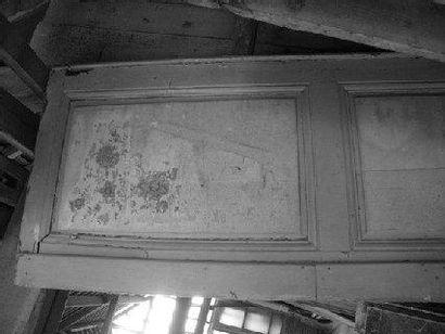 Bas lambris, sapin H. 80 - L. 60 cm