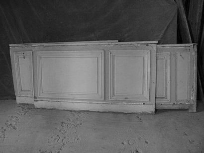Bas lambris, sapin H. 80 - L. 70 cm