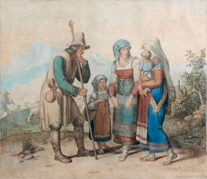 Johannes RIEPENHAUSSEN (Göttingen 1787 - Rome 1860)