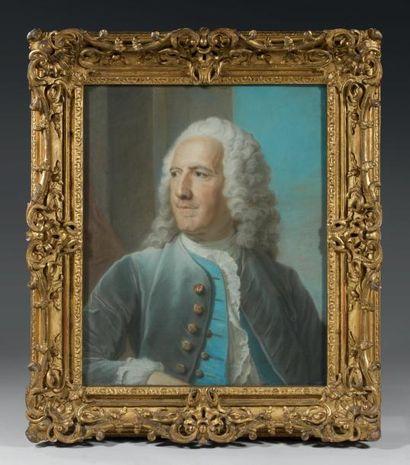 Ecole FRANCAISE du XVIIIème siècle, suiveur de Maurice QUENTIN de LA TOUR