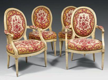 Mobilier de salon composé d'une paire de...