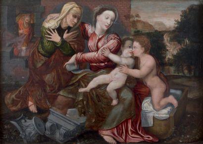 Ecole FLAMANDE du XVIème siècle, atelier de Jan MASSYS