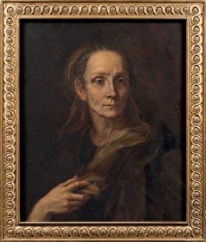 Attribué à Balthasar DENNER (1685 - 1747)