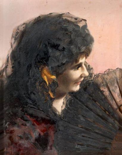 Kitty TOLLIN - FORNIER (? - Genève vers 1908)