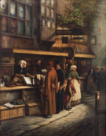 Joseph Hendrick LIES (Anvers 1821 - 1865)