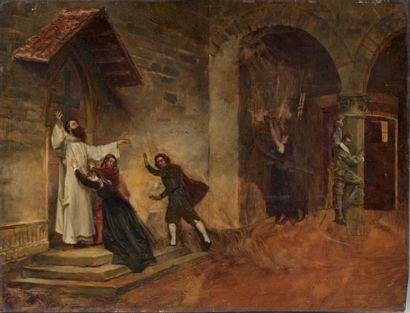 Attribué à Jean-Pierre LAURENS (1838 - 1921)