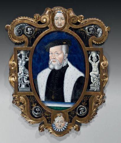 Portrait du connétable de Montmorency. Email...