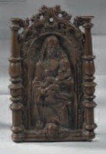 Baiser de Paix en bronze représentant une...