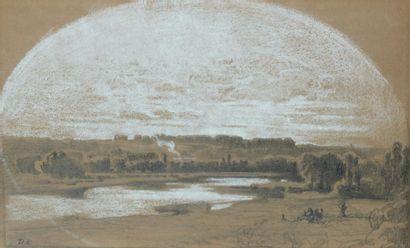 Alexandre-Gabriel DECAMPS (Paris 1803 - Fontainebleau 1860)