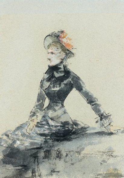 Louise ABBEMA (Etampes 1858 - Paris 1927)