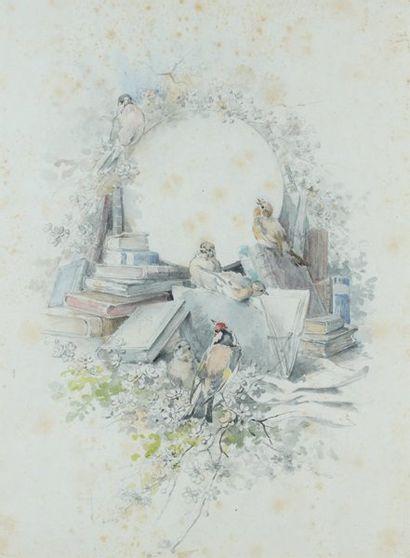Hector GIACOMELLI (Paris 1822 - Menton Caravan 1904)