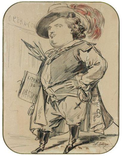 Achille DEVERIA (1800 - 1857)