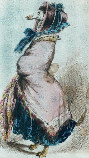 Jean Ignace Isidore GERARD dit GRANDVILLE (Nancy 1803 - Vanves 1847)