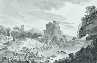 Laurent BORGAREL (Actif à Turin au XVIIIème siècle)