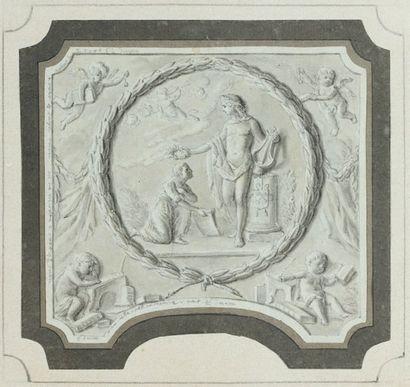 Ecole HOLLANDAISE du début du XVIIIème siècle