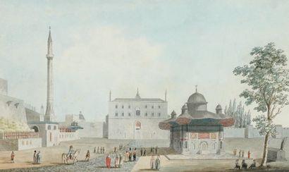 Michel François PREAULX (Actif à Constantinople entre 1796 et 1827)