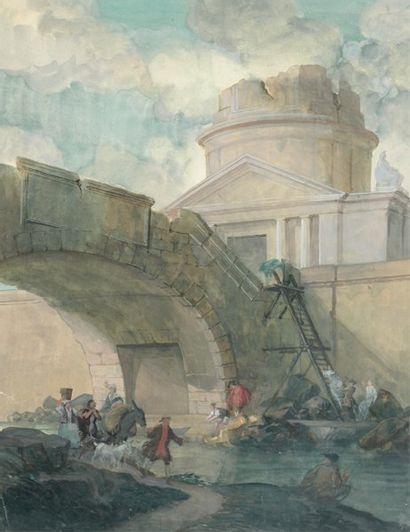 ÉCOLE FRANÇAISE VERS 1820