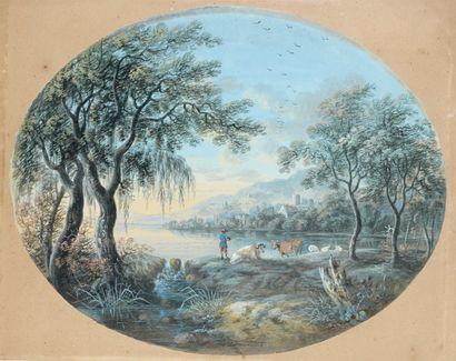 Agostino AGLIO (Crémone 1777 - 1857)