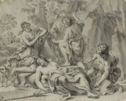 Jacopo Alessandro CALVI dit Il SORDINO (Bologne 1740 - 1815)