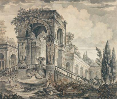 École FRANÇAISE de la fin du XVIIIème siècle