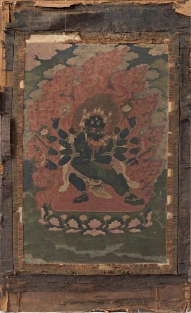 CHINE Tibet - XIXème siècle