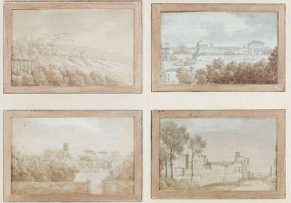 Attribué à Jean-Antoine CONSTANTIN d'AIX (1756 - 1844)