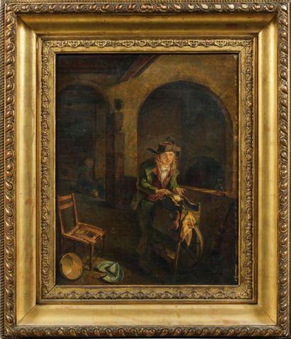 Attribué à Jean Michel GROBON (1770 - 1853)