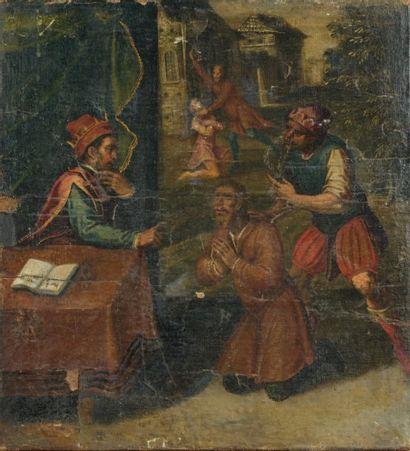 Ecole ESPAGNOLE du début du XVIIème siècle