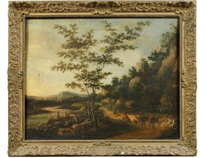 Ecole HOLLANDAISE du XVIIIème siècle, dans le goût de Jan BOTH