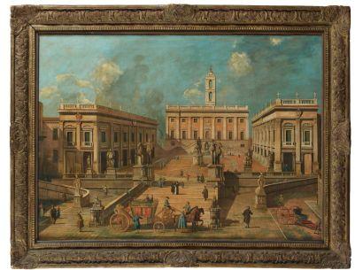 Ecole ROMAINE du XIXème siècle, suiveur de Giacomo van LINT