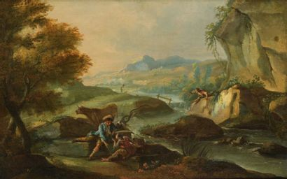 Attribué à Giuseppe Bernardino BISON (1762 - 1844)