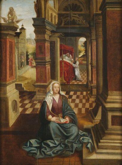 Ecole ANVERSOISE du XVIIème siècle, dans le goût de Jan GOSSAERT dit MABUSE
