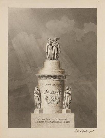 Trois projets de monuments: -