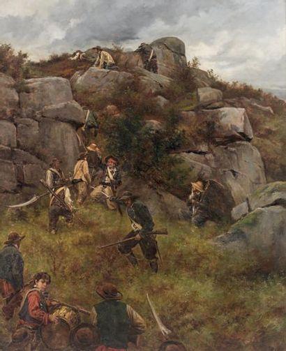 Adolphe Pierre Leleux, attribué à
