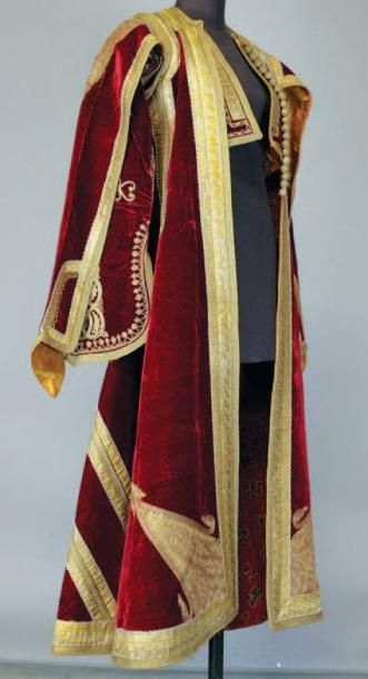 Ensemble comprenant un manteau ottoman en...