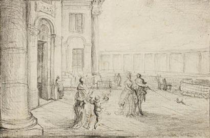 GABRIEL DE SAINT AUBIN (PARIS 1724 - 1780)