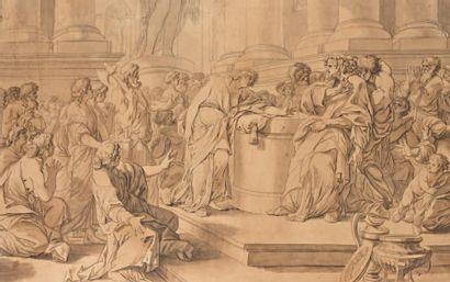 Ecole FRANCAISE du XVIIIème siècle, entourage de Jean Honoré FRAGONARD