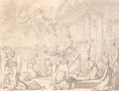 Louis Félix de LA RUE (Paris 1730 - 1765)