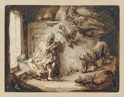 Attribué à Constantin van RENESSE (1626 -1680)